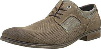 Tom Tailor 2780904, Zapatos de Cordones Derby para Hombre, Marrón (Sand 00010), 42 EU