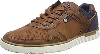 Tom Tailor 485100330, Sneaker Uomo, Marrone (Cognac 00205), 46 EU