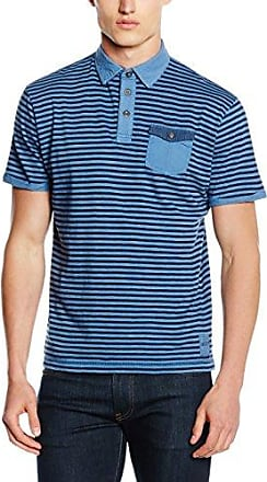 Hajo H Poloshirt Softknit, Polo Homme, Bleu (Blau), Small