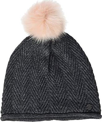Mens Jacquard Hat Pom Beanie, Red (Dull Red 4245), One Size Tom Tailor