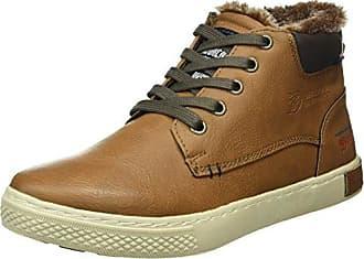 TOM Tailor 485100330, Zapatillas para Hombre, Marrón (Cognac 00205), 45 EU