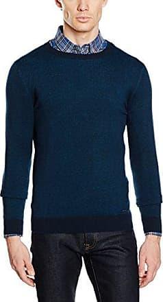 Mens Modern Basic Crew-Neck Sweater Jumper Tom Tailor