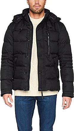 Light Padded Jacket, Chaqueta para Hombre, Negro (Black 2999), Large Tom Tailor