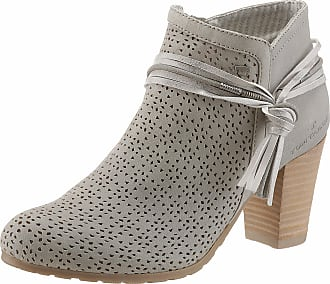 TOM TAILOR Stiefeletten mit Lochperforation, Damen, grey, Größe: 37