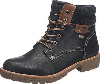 TOM TAILOR Damen 1691309 Desert Boots, Schwarz (Black), 36 EU