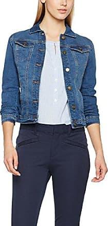 Lightweight Jacket, Blouson Femme, Bleu (Brunnera Blue 6912), 36 (Taille Fabricant: X-Small)Tom Tailor