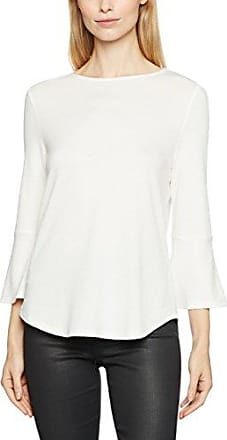 Tom Tailor Trendy Lace Shirt, Camiseta para Mujer, Blanco (Whisper White 8210), Large
