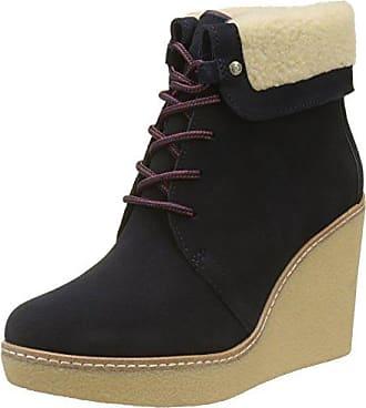 Tommy Hilfiger Damen B12385RANDY 1BW Desert Boots, Blau (Midnight), 38 EU