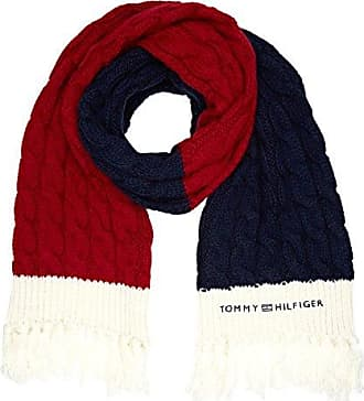 Womens Tjw Tie Dye Logo Scarf, Blue (Corporate 901), One Size (Manufacturer Size: OS) Tommy Hilfiger