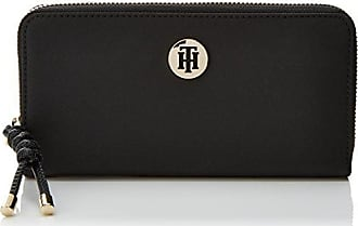 Tommy Hilfiger Fashion Hardware Small Flap WalletPortefeuillesFemmeNoir (Black)3x8x10 cm (W x H x L)