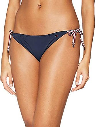 Tommy Hilfiger Side Tie Bikini, Bas de Maillot Femme, Bleu (Navy Blazer 416), 42 (Taille Fabricant: X-Large)