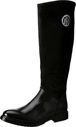 M1285ia 4b, Botas para Mujer, Negro (Black), 42 EU Tommy Hilfiger