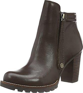 Tommy Hilfiger W1285ENDY 10B, Zapatillas de Estar por Casa para Mujer, Marrn (Mink 906), 41 EU
