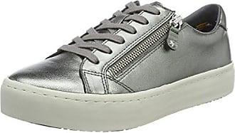 Tommy Hilfiger P1285hoenix 8c3, Zapatillas para Mujer, Plateado (Dark Silver), 42 EU
