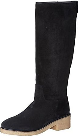Tommy Hilfiger B1285arcelona 6b, Bottes Femme, Marron (Black Coffee), 42 EU