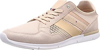 Tommy Hilfiger Metallic Light Weight Lace Up, Zapatillas para Mujer, Rosa (Dusty Rose 502), 40 EU