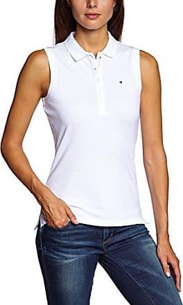 Bogner Jeans, Polo para Mujer, Blanco (White 200), 36 (Talla Fabricante: S)