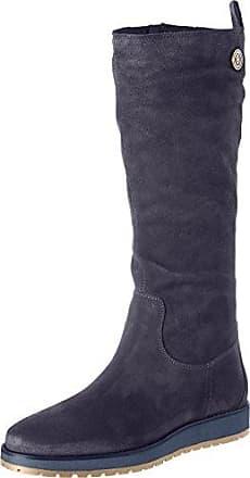 Tommy Jeans Hilfiger Denim H1385azel 2b, Bottes Femme, Gris (Steel Grey), 42 EU