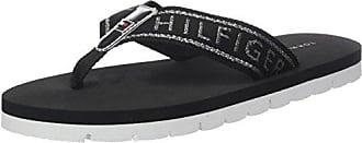 Comfort Low Beach Sandal, Chanclas para Mujer, Negro (Black 990), 41 EU Tommy Hilfiger