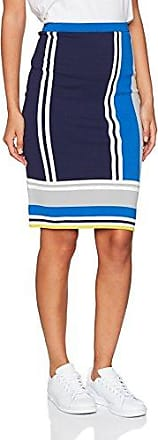 Taylor Solid SkirtJupe - Femme - Bleu (Peacoat) - FR : 40 (Taille Fabricant : L)Tommy Hilfiger