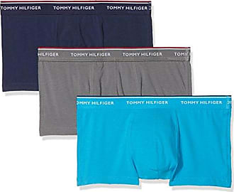 Low Rise Trunk 3 Pack Premium ESS, Bóxer para Hombre, Multicolor (Smoked Pearl/Vivid Blue/Peacoat 225), XX-Large Tommy Hilfiger