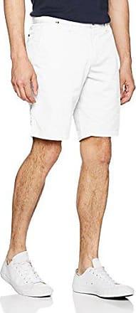 Brooklyn Short Light Twill, Pantalones Cortos para Hombre, Blanco (Bright White 100), (Talla del Fabricante: 36) Tommy Hilfiger