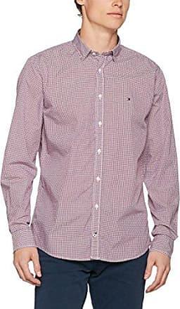 Bari Slim Fit FTC, Camisa para Hombre, Morado (Barnished Lilac 542), Medium (Talla del Fabricante: 39) Calvin Klein