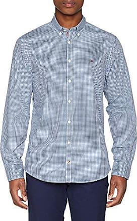 Lukas CHK NF1, Chemise Casual Homme, Bleu (Nautical Blue/Mars Red), 37 cm (Taille Fabricant: Small)Tommy Hilfiger
