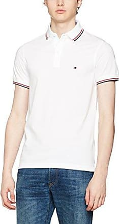 Polo homme manches courtes 100 % coton, couleurs assorties, Bianco