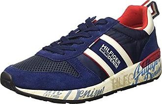 FM56822130 Sneakers Herren Samt Taupe 41 Tommy Hilfiger