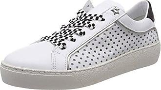 Tommy Hilfiger Tommy Sequins Flatform Sneaker, Sneakers Basses Femme, Blanc (White 100), 39 EU