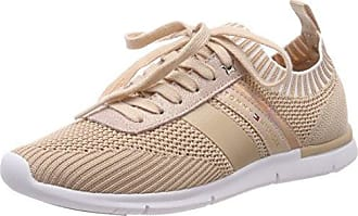 Tommy Hilfiger Textile Light Weight Sneaker, Zapatillas para Mujer, Rosa (Dusty Rose 502), 37 EU