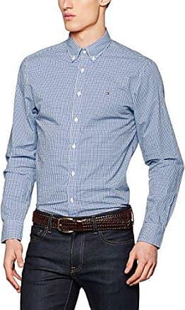 Mens Devan Chk Nf2 Long Sleeve Casual Shirt Tommy Hilfiger