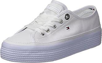 Tommy Hilfiger Damen Light Weight Slip on Sneaker, Beige (Cobblestone 068), 38 EU