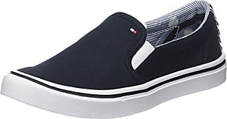 Textile Light Weight Slip On, Zapatillas para Mujer, Azul (Midnight 403), 37 EU Tommy Hilfiger