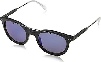 Unisex-Adults TH 1348/S SS Sunglasses, Crystal Bluee White, 49 Tommy Hilfiger