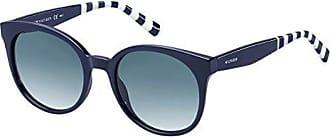 Unisex-Adults TH 1482/S 08 Sunglasses, Blue, 52 Tommy Hilfiger