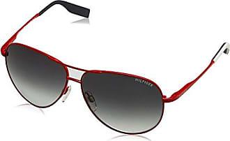Unisex-Adults TH 1474/S 9O Sunglasses, Blkgrey Blck Edm, 53 Tommy Hilfiger