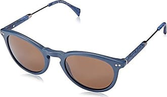 Unisex-Adults TH 1383/S EC Sunglasses, Bluehorn, 51 Tommy Hilfiger