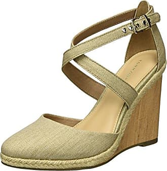 FRIIS COMPANY Sandalo con cinturino oro stile casual Donna Taglia IT 39