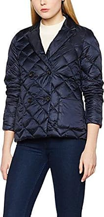 Tommy Hilfiger New Gloria Packable LW Down Blazer, Blouson Femme, (Midnight), 36 (Taille Fabricant: 6)