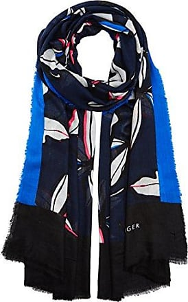 Womens Tommy Bandana Neckerchief, Blue (Peacoat 901), One Size (Manufacturer Size: OS) Tommy Hilfiger