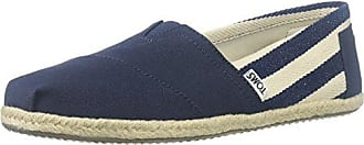 TOMS Damen Alpargata University Classics Espadrilles, Blau (Navy Stripe 410), 41 EU