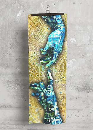 Modal Scarf - Rubino Glass Gold by Tony Rubino Tony Rubino