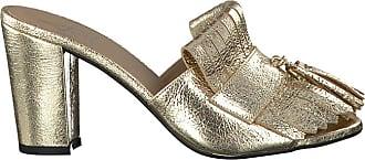 Goldfarbene Toral Mules TL10821