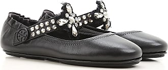 Ballet Flats Ballerina Shoes for Women On Sale, Black, Leather, 2017, 3.5 4 4.5 5.5 6 7.5 Tory Burch