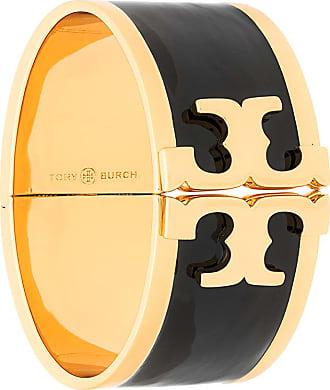 Tory Burch black enamel bracelet - Metallic