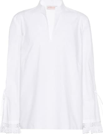 Shirt for Women On Sale in Outlet, White, Cotton, 2017, IT 44 - US 6 - F 40 Tory Burch