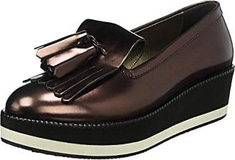 Tosca BLU Cimone, Zapatos de Cordones Derby para Mujer, Dorado (Oro Antico 98K), 41 EU