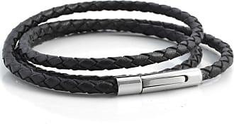 Black Anchor Leather Cord Lucléon